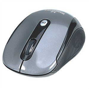 4-Button Optical Mouse, Wireless, 2000dpi 177795 - Manhattan