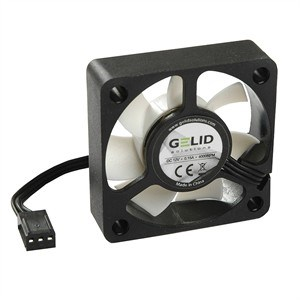 Silent5 50mm Silent Case Fan, 3 Pin Molex, Black FN-SX05-40 - GELID