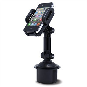 Cup Holder Mount For Smartphones And Tablets, Black SCH-121 - Satechi
