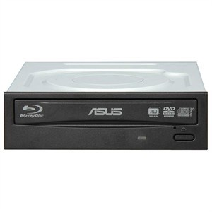 Blu-ray Reader, CD/DVD Burner, OEM, Black Bezel BC-12B1ST - ASUS