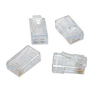 EZ-RJ45 CAT6 Plug Connectors, 50 Pack 100010C - Platinum Tools